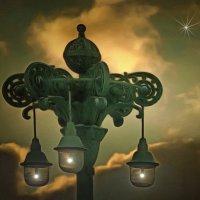Спутники в ночи.... :: Tatiana Markova