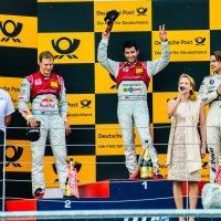 Подиум первой гонки DTM на Moscow Raceway :: Владислав Кийко