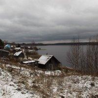 Деревня на берегу Вачозера :: Алексей Корнеев