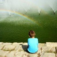 И как получается красивая радуга? :: Надежда