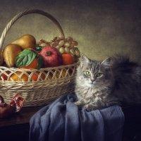 Масяня с фруктами :: Ирина Приходько
