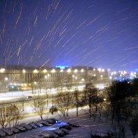 Искрометный снег ... :: Лариса Корж
