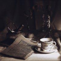 """Вечернее чтение.  (по просьбе """"veilins veilins""""...  сделан  монохром..... ) :: Валерия  Полещикова"""