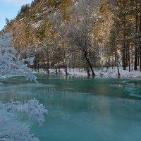 Освободившаяся вода. :: Валерий Медведев