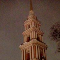 Колокольня Крестовоздвиженского собора в Санкт-Петербурге, в ноябре месяце. :: Светлана Калмыкова
