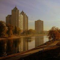 Пейзаж в осеннем колорите :: Лара Амелина