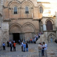 У входа в Храм Гроба Господня :: Aleks Ben Israel