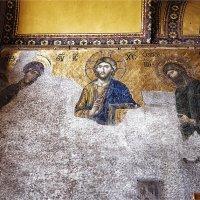 Византийская мозаика в соборе Айя-София в Стамбуле :: Ирина Лепнёва