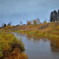 Река Вологда в верхнем течение :: Валерий Талашов