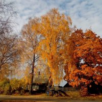 Деревня в Клястицах! :: Андрей Буховецкий