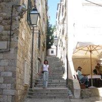 Хорватия. Дубровник. Улица - лестница. :: Лариса (Phinikia) Двойникова