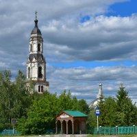 Колокольня села Порецкое. :: Наталья