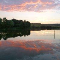 Вечер. Пыхтинский пруд. :: Alexey YakovLev