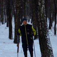 И где обещанная месячная норма снега? :: Андрей Лукьянов