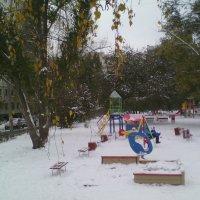 Засыпало...   снег...снег... :: марина ковшова