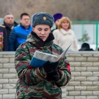 присяга  военно-патриотического клуба :: Екатерина Краева