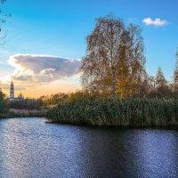 Осенний пруд......................... :: Александр Селезнев