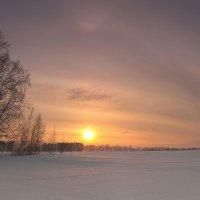 Только-только рассвело...утро зимнее пришло 3 :: Сергей Жуков