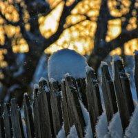 Морозный рассвет :: Юрий Фёдоров