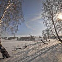 Поутру зимой проснувшись 2 :: Сергей Жуков