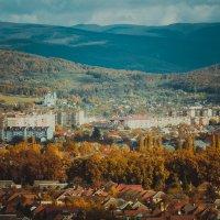 Закарпатье. Вид из замка Паланок. :: Елена Остапова
