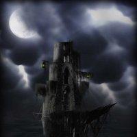 Загадочная картина: Корабль-призрак в фотошоп :: Наталья (ShadeNataly) Мельник