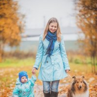 Осень, прогулка :: Serega Alukard X2