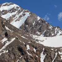 Летом в горах выше 3000 м :: Горный турист Иван Иванов