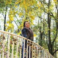 На мостике влюблённых - с мечтами о любви! :: Оксана Кошелева