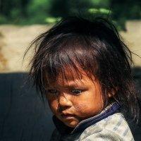 Просто непальская девочка,где-то в Гималаях! :: Александр Вивчарик
