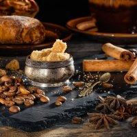 Кофе с корицей и тростниковым коричневым сахаром :: Анатолий Тимофеев