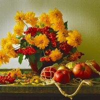 Золотые шары... :: Валентина Колова