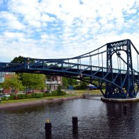 Разведённый мост Кайзера Вильгельма :: Ольга