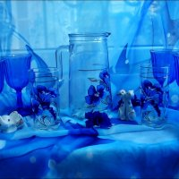 Всё в голубом свете... :: Нина Корешкова