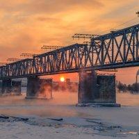 Мост в морозном тумане :: cfysx