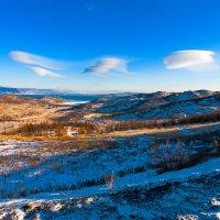 Облака над Байкалом :: Анатолий Иргл