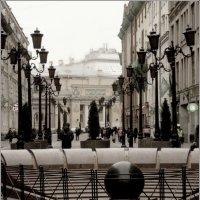 Улица с красивыми фонарями :: Lina Belle