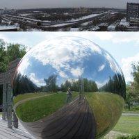 2_2. Фотография с цилиндрической перспективой. Фотография со сферической перспективой. :: Алексей Епанешников