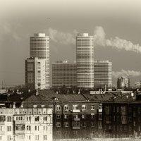 Старая и новая Москва. :: OKCAHA Валова