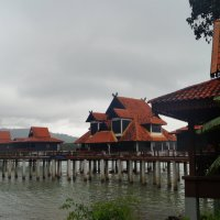Малайзия. Домики на сваях :: Gal` ka