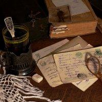 Старые  открытки :: Наталья Казанцева