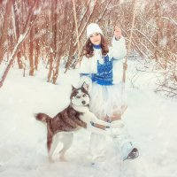 Маша и Айси :: Жанна Новикова