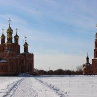 Собор и колокольня. Ачаирский монастырь. :: Гулько Т