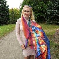 Девушка с зонтиком :: Оксана Кошелева