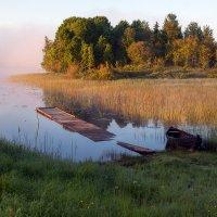 На берегу озера. :: Игорь Маснык