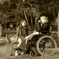 навестить бабушку :: Grigory Spivak