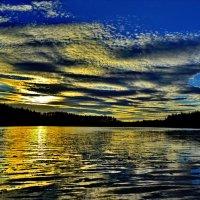 Сказочные облака. Золотое руно... :: Владимир Ильич Батарин