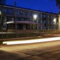 школа ночью :: Александра Андрющенко