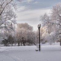 Городской пейзаж :: Людмила Фил
