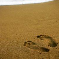 Следы на песке :: Ksyusha Pav